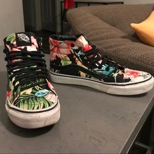 Vans Hawaiian Floral Shoes